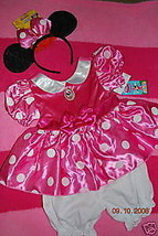 Disney Store Minnie Mouse Pink Costume Dress NWT Girls - $35.00