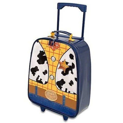 Toy Story 3 Woody Rolling Luggage Light-Up Sheriff Woody