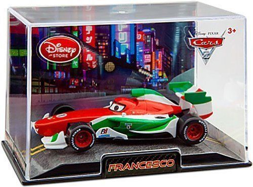 Disney / Pixar CARS 2 Movie Exclusive 148 Die Cast Car In Plastic Case France...