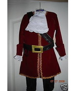 Disney Store Jake and Neverland Pirates Captain Hook Costume Deluxe Pirate - $59.99+