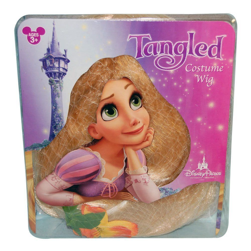 57. 57. Tangled Rapunzel Costume Wig ...  sc 1 st  Bonanza & Tangled Rapunzel Costume Wig Long Hair Piece and 50 similar items