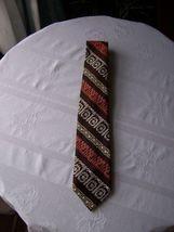 Brown Patterned Tie - $5.99