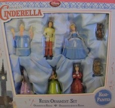 Disney Cinderella Resin Ornament Set...8 Pieces - $59.58
