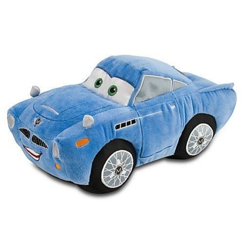 Disney / Pixar CARS 2 Movie Exclusive 13 Inch Deluxe Plush Toy Finn McMissile - $29.39