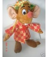 Disney Store Vintage Princess Cinderella Plush Jaq Mouse Doll Spring Fai... - $24.21