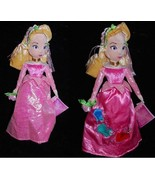 DISNEY PRINCESS SLEEPING BEAUTY DOLL SPRING FAIR COLLECTOR  PLUSH 2 in 1... - $31.65