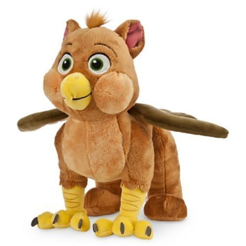 """SOFIA THE FIRST GRIFFIN PLUSH FRIEND DOLL TOY 12"""" AUTHENTIC DISNEY STORE PATCH"""