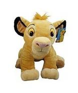 Disney Lion King Exclusive 28 Inch Deluxe Jumbo Plush Figure Simba - $92.17