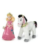 DISNEY PRINCESS SLEEPING BEAUTY DOLL HORSE SAMSON SPRING FAIR COLLECTOR ... - $46.50