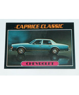 1976 Topps Autos of 1977 #20 Chevrolet Caprice Classic Card VG-EX Condition - $14.83
