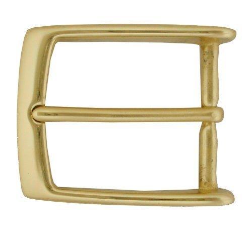 "Solid Brass Metal Buckle 1-3/8"" (35mm) Wide - $6.91"