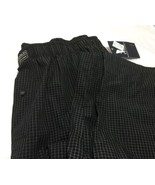 Polo Ralph Lauren Men's Sleepwear Check Cotton Pajama Black Pants L/G - $29.69