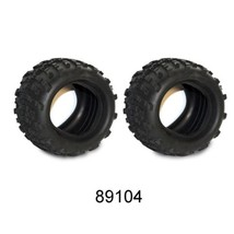 "6'x3""X4"" Off Road Tires With Foam Inserts Monster 89104 - $19.95"
