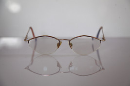 Eyewear, Gold  Half Rimless Frame, Multi-color,  Prescription Lenses. RX... - $17.82