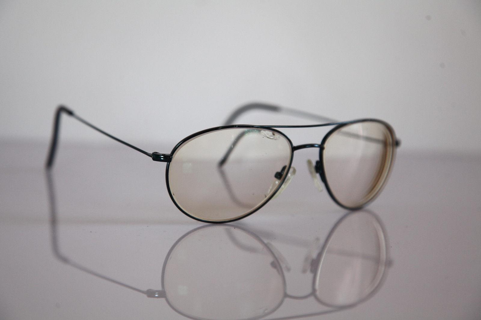 Eyewear, Metallic Blue Aviator Frame,  Prescription Lenses. RX- Able