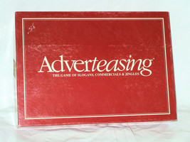 ADVERTEASING BOARD GAME 1988 TRIVIA RISCHER ENTERPRISES EXCELLENT - $7.33