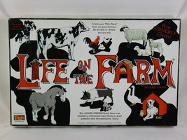 LIFE ON THE FARM BOARD GAME 1996 AWARD WINNING NEAR MINT CONDITION @@ - $24.30
