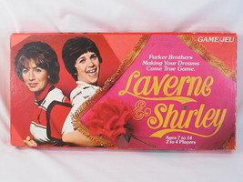 Laverne & Shirley 1977 Board Game Parker Brothers 100% Complete EUC Bilingual - $21.73