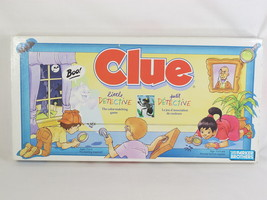 Clue 1992 Little Detective Board Game Parker Brothers 100% Complete Exce... - $8.91