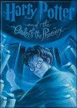Harry Potter and the Order of the Phoenix Book Cover Refrigerator Magnet... - $3.99