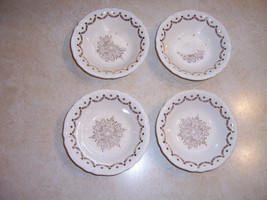 Edwin M. Knowles China Set of 4 Dessert Bowls o... - $33.79