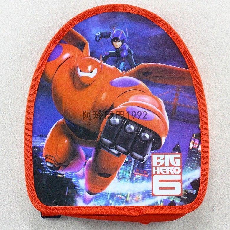 Big Hero 6 Kid Adjusted Travel Backpack Shoulder - Random Color and Design