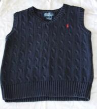 Ralph Lauren Polo Boys Sweater Vest Size 6 Very Nice!! - $13.81
