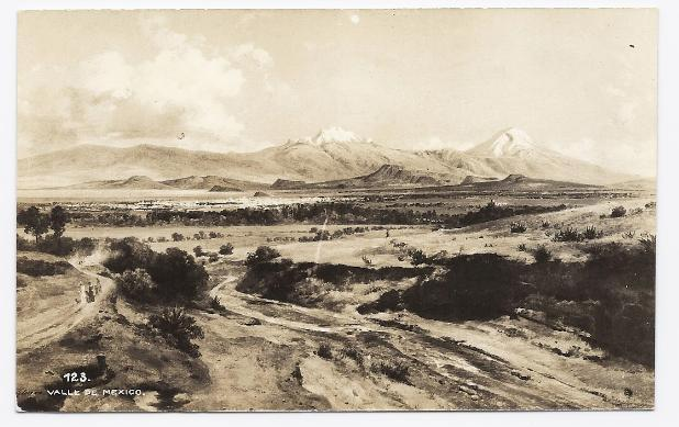 c1910 - Valley in Mexico - Unused