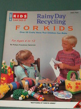 Rainy Day Recycling for Kids Booklet Vtg 1991 Plaid - For ages 4-12 Free... - $3.66