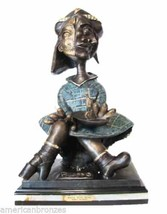 """Picasso """"©Maya With Boat"""" 28""""H Original Limited Edition Lost Wax Bronze ... - $3,900.00"""