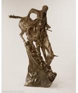 Mountain Man Pure Bronze Collectible Sculpture Statue by Remington Monumental - $5,900.00