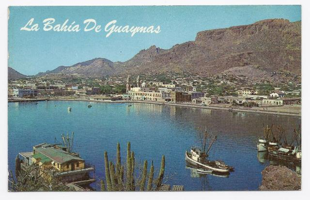 c1950 - Guaymas Bay, Sonora, Mexico - Unused