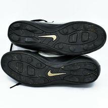 Nike Boy's Youth Kids Phantom Black & Gray Soccer Cleats Size 6Y image 5