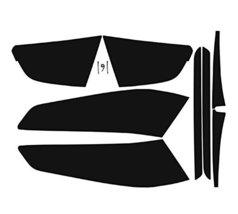 Subject 9 - Kia Optima Pre-cut vinyl overlay tail light PLUS tint kit (2014 2... - $21.77