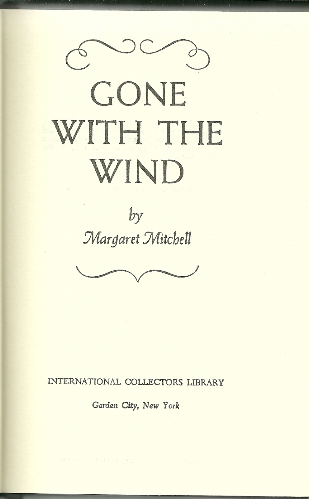 a summary of gone with the wind a novel by margaret mitchell On this day in 1936, margaret mitchell's gone with the wind was published in honor of its birthday, here are 10 things you might not have known about the pulitzer prize-winning novel 1 margaret.