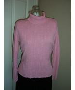 Jennifer Moore Pink Turtleneck Sweater Size Medium - $12.99