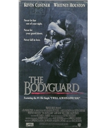 The Bodyguard VHS Kevin Costner Whitney Houston  - $1.99