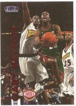 Gary Payton Fleer 99-00 #153 Seattle Supersonics Los Angeles Lakers Miam... - $0.50