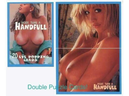 Super Busty Boobs ** MORE THAN a HANDFUL-BIG HOOTERS Card Set +the 3 Rare Promos