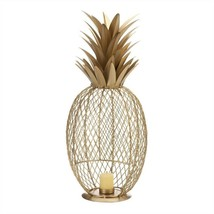 Golden Pineapple Candle Holder - $34.11