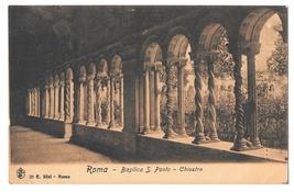 Italy Roma Basilica S Paolo Chiostro Saint Paul Cloister Vintage E Risi ... - $4.99