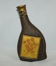 Vintage Jim Beam's Choice Sunflowers Van Gogh Whiskey Bottle Collectors Vol IV - $7.87