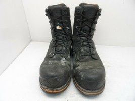 "Timberland PRO Men's 8"" Boondock Waterproof Work Boots Black 89645 Size ... - $75.99"