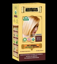 100% Botanical & Organic Golden Wheat Blonde Hair Color USDA & Ecocert Certified - $15.39