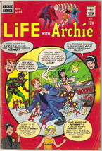 Life With Archie Comic Book #55, Archie 1966 VERY GOOD- - $10.23