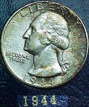 Washington Quarter 1944 BU  - $13.04
