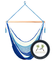 Sky Hammock Chair - 100% Hand Woven - Perfect for one child, teen or adult! - $99.95