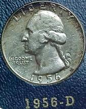 Washington Quarter 1956-D VF - $9.04