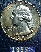 Washington Quarter 1957-D AU - $10.04