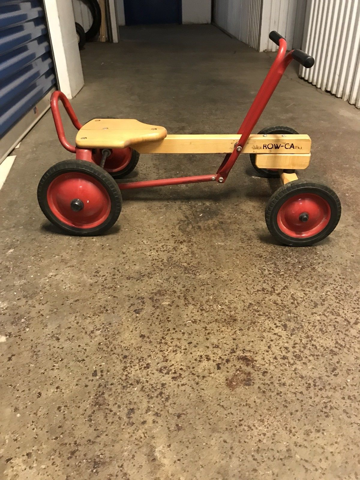 Vintage Radio Flyer Row Cart Wood Metal And 15 Similar Items